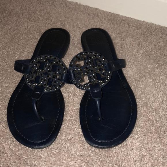 b6312530a11581 Tory Burch Shoes - Tory Burch Miller Sandals Size 9.5